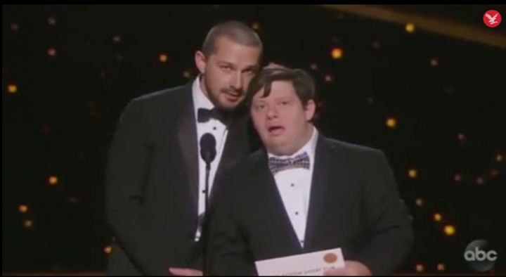 Zack Gottsagen made history at the 92nd annual Oscars as the first presenter with Down syndrome.