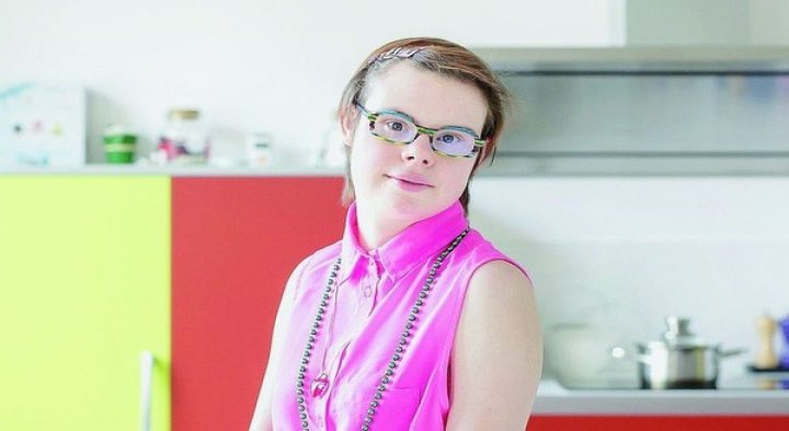 Eleonore Laloux is waging a campaign to become one of the first women with Down syndrome to win a local council seat France's municipal elections